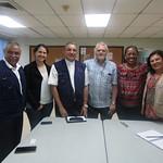 Reunión directivos SIGNIS ALC con arzobispo de Panamá