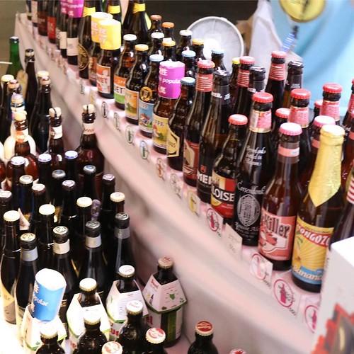ショップコーナーも超充実。 #ベルギービールウィークエンド