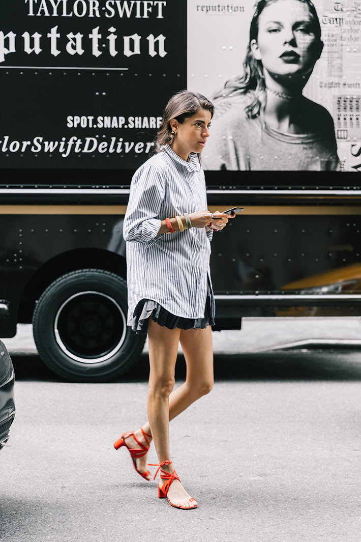 best new york street style fashion week trend style outfit 16