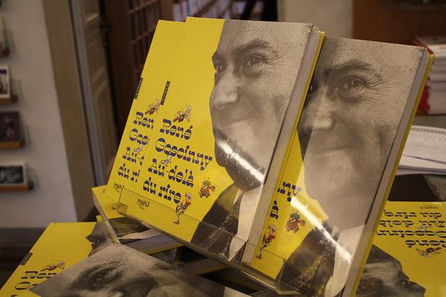 Exposition René Goscinny au Musée d'Art et d'Histoire du Judaïsme