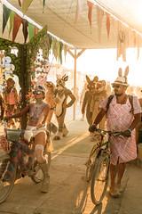 Billion Bunny March, Burning Man 2017