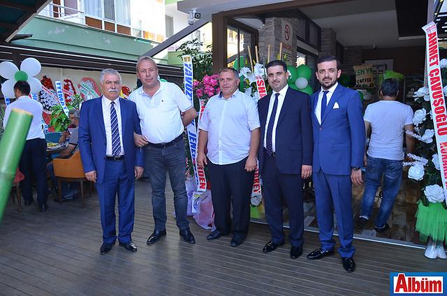 Ali Ulukaya, Alaaddin Erden, Goderdzi Xurcidze, Murat Ulukaya, Adem Ulukaya