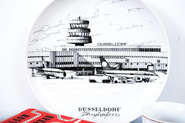 Dusseldorf Airport plate
