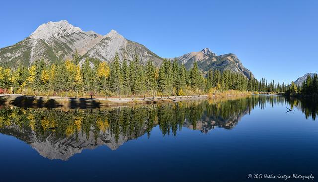 Mt. Lorette Ponds Panorama