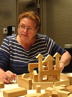 Tonya Gaylord with Blocks