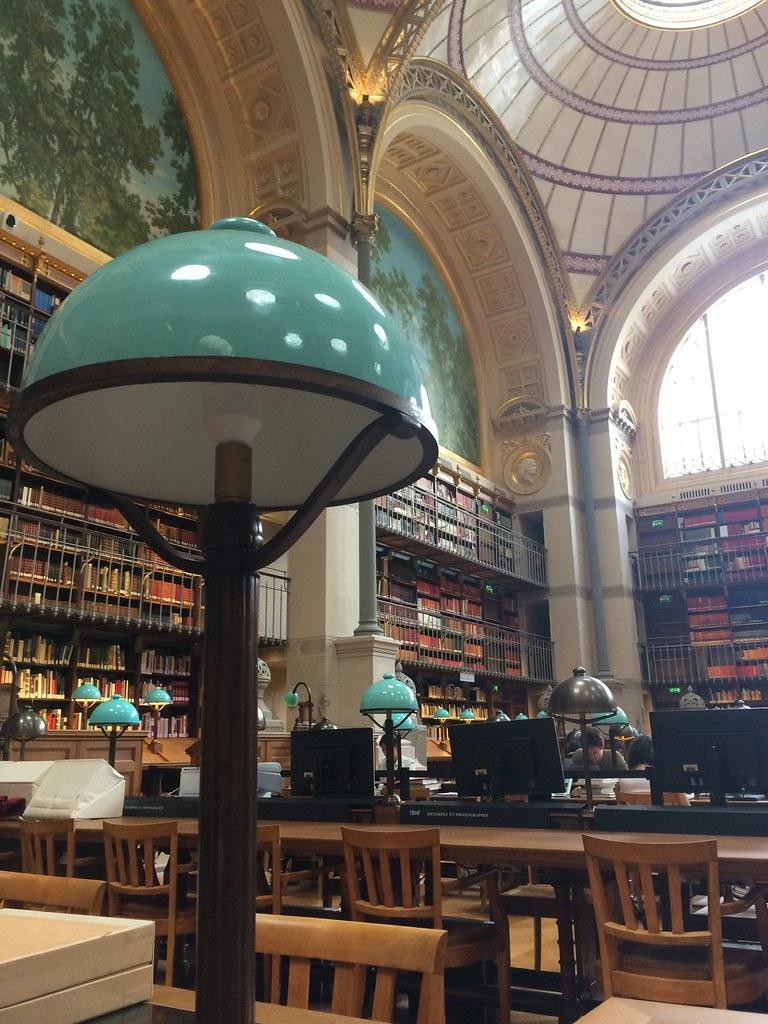 Salle Labrouste de la BnF Richelieu