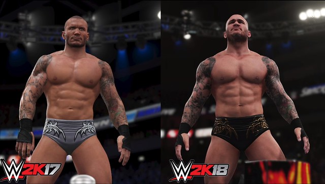 WWE 2K17与WWE 2K18  -  Randy Orton