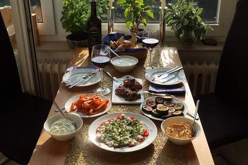 Antipasti (als vollwertiges Abendessen)