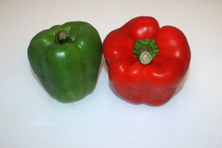 11 - Zutat Paprika / Ingredient bell pepper