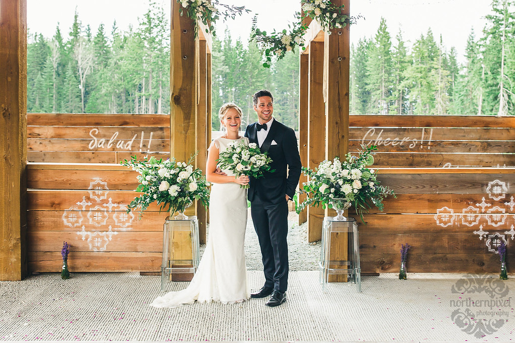 Newlywed Couple - Prince George BC Wedding