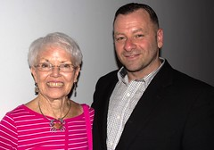 Barry Donadio and Maryland Senator Addie Eckardt June 26th 2017