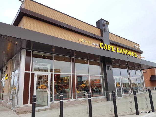 Cafe Landwer storefront