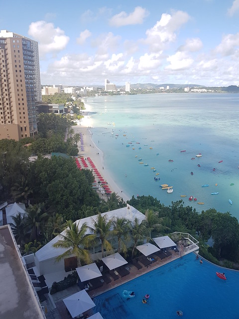 Guam Reef and Olive Spa Resort Partial Ocean View