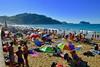 Dia de mucho calor Hoy a la tarde con la marea alta
