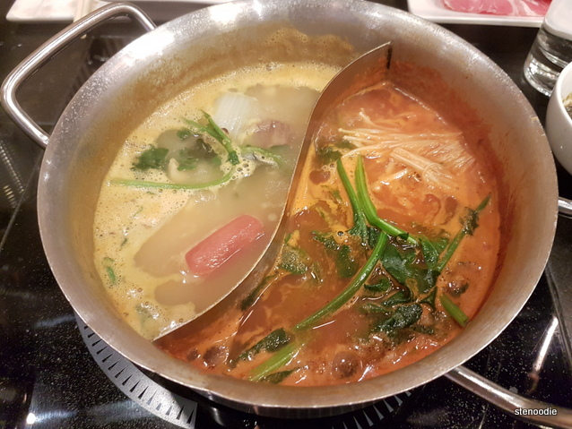 split hot pot