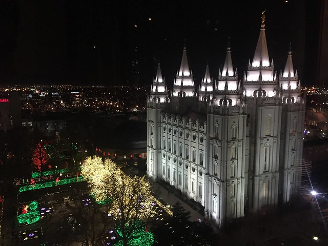 Visiting the Mormon Tabernacle Choir and Orchestra in Salt Lake City