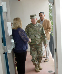 IMCOM Commander visits Presidio