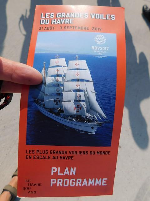 26/08-02/09/2017 Cabourg Samedi 2 Septembre Le Havre Exposition des Grandes Voiles