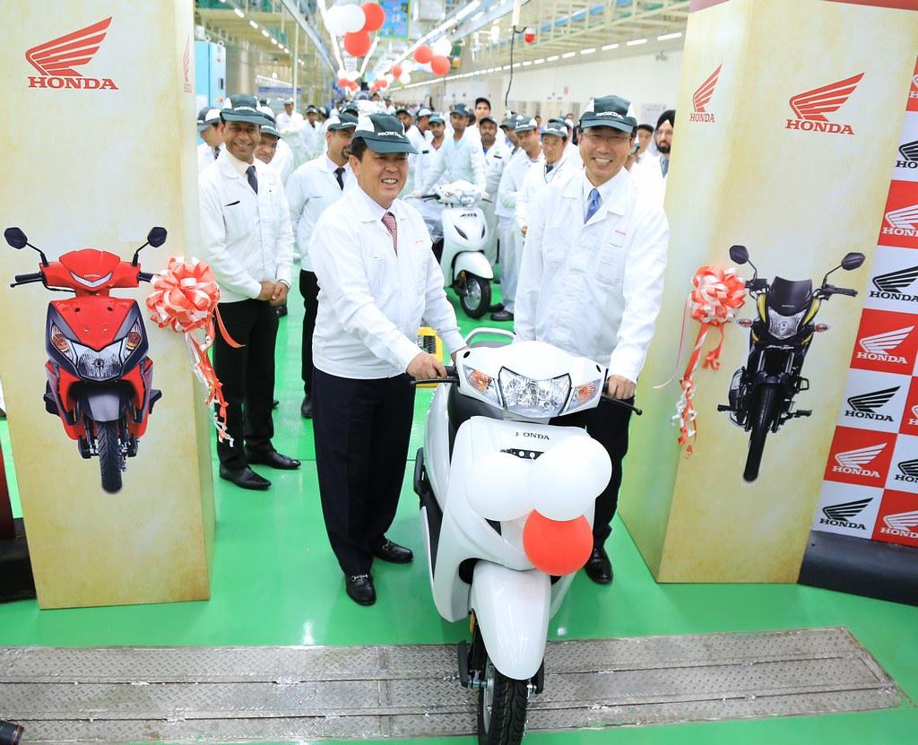 Honda-Two-Wheelers-Narsapura-Plant-Karnataka