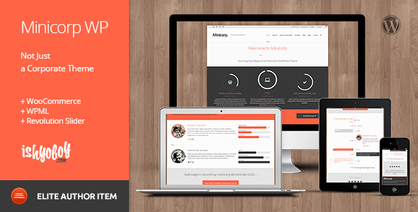 Minicorp WP v2.3 – Not Just a Corporate Theme