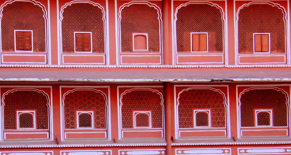Pink City walls are one of the favourite subjects in Jaipur photo blog