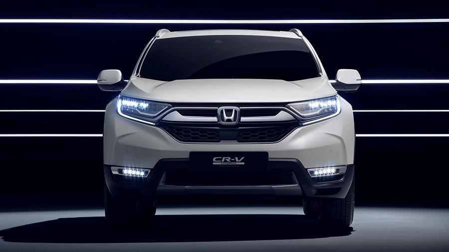 Honda CRV Hybrid Prototype 24#