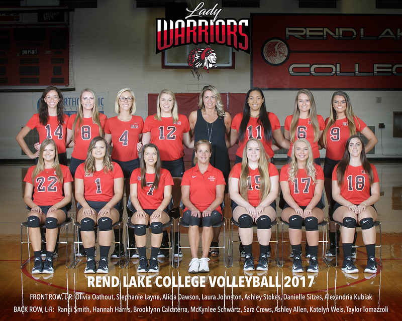 Rend Lake College Volleyball 2017