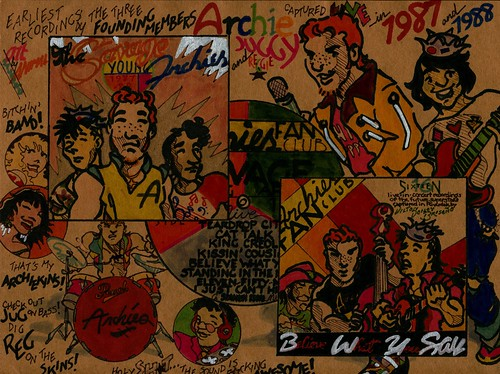 SAVAGE YOUNG ARCHIES LP DESIGN