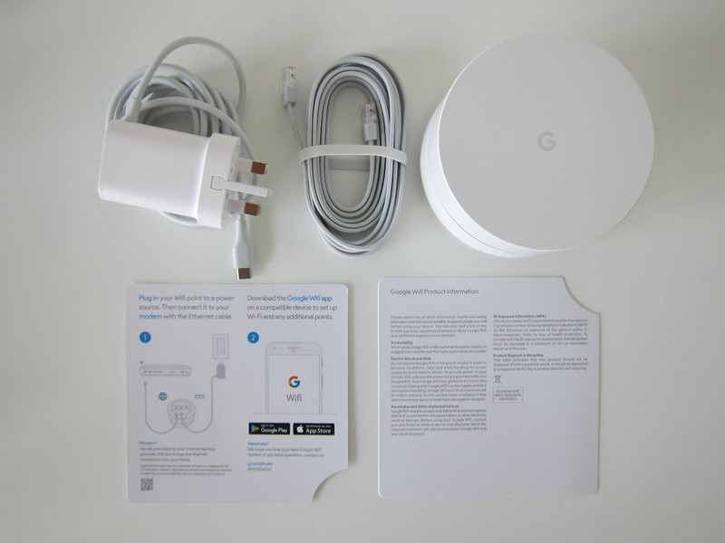 Google Wifi - Box Contents