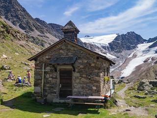 Kapelle der Weißkugelhütte