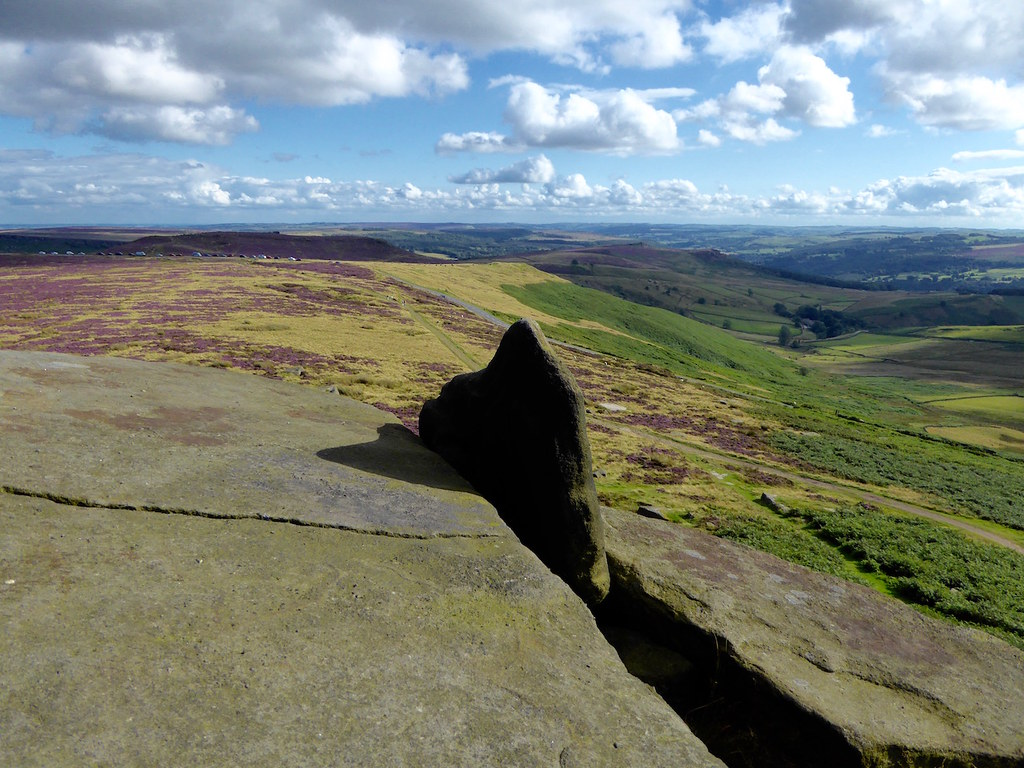 View from the Cowper Stone Sheffield to Bamford walk