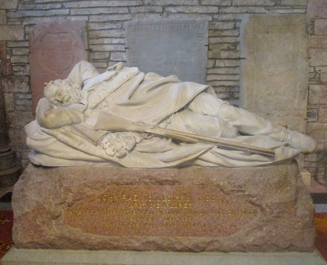 John Rae Memorial, St Magnus Cathedral, Orkney