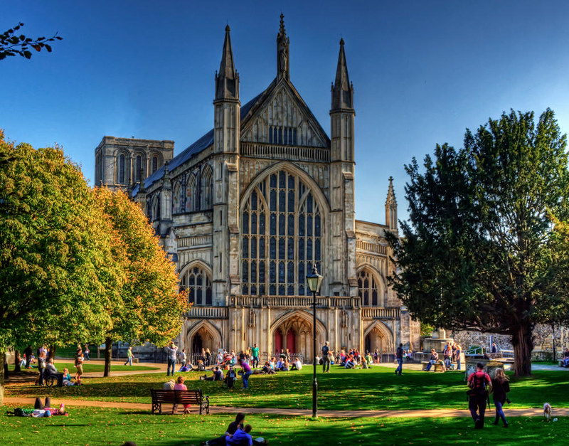 Winchester Cathedral. Credit Neil Howard