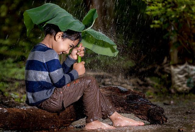 Enjoying monsoon