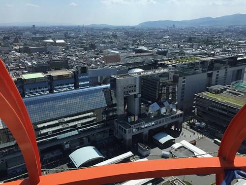 京都タワー展望台