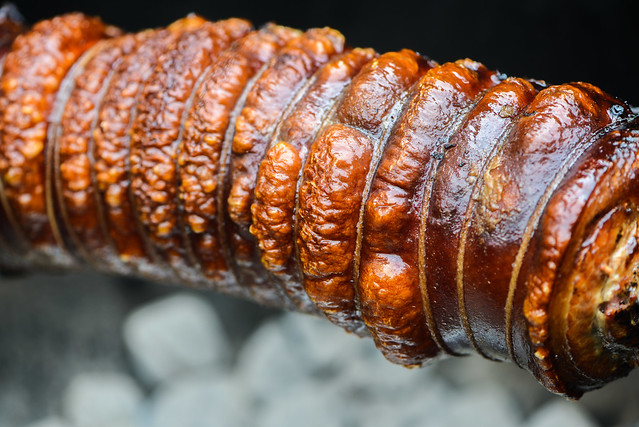 Smoked Porchetta