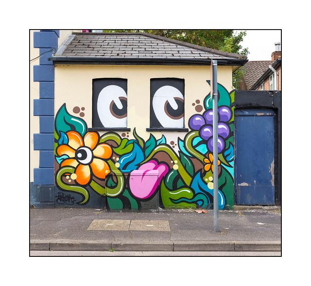 Street Art (Artista), South East London, England.