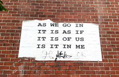 as we go in it is as if it is of us is it in me