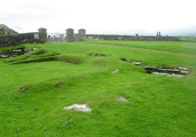 Reverse Angle, Drinking Hall, Earl's Bu, Orphir, Orkney