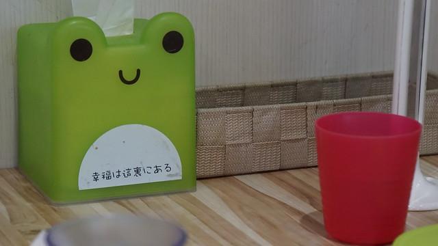 面紙盒與餐具籃@高雄童樂島親子餐廳