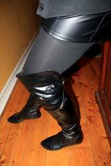 Shorts, Tights, Boots