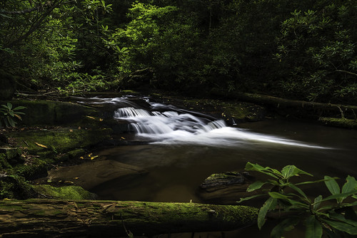 georgia littlerockcreekfalls travel blueridge unitedstates us waterfall d750 longexposure 24120mm chattahoocheenationalforest forest nikon landscape rocks moss green littlerockcreek