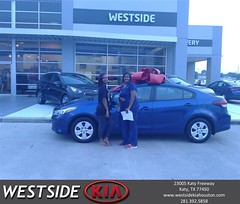 #HappyBirthday to Rosita from Marlon Smith at Westside Kia!