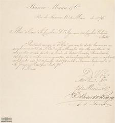Carta do Banco Mau�