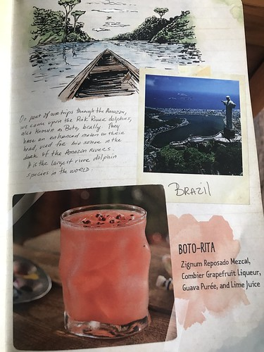 Gorgeous drinks menu. From A Nomad's Haven in Disney's Animal Kingdom