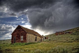 Bodie Ghost Town Storm