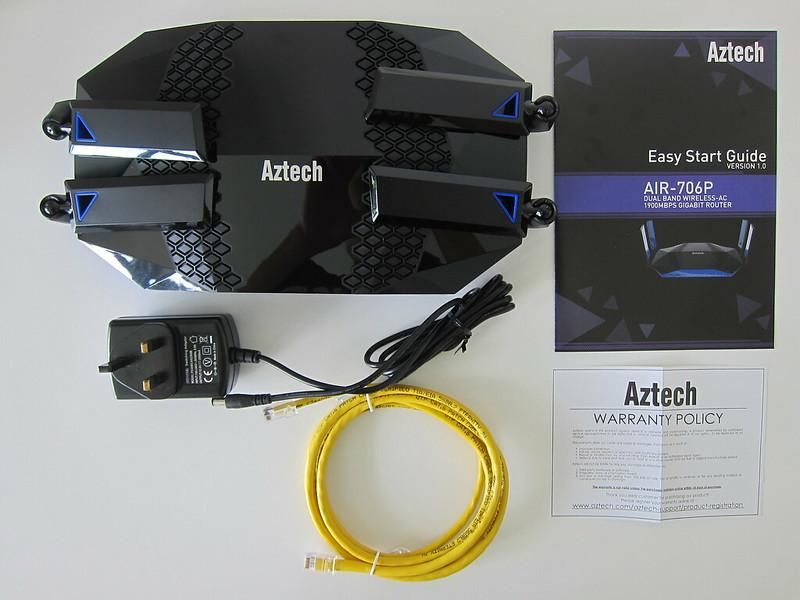 Aztech AIR-706P - Box Contents