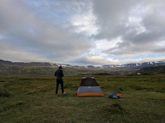 Our campsite at Hornvík in Hornstrandir