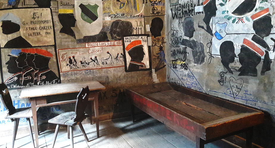 Bezienswaardigheden in Heidelberg: studentengevangenis | Mooistestedentrips.nl