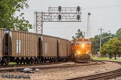 BNSF 6692 | GE ES44C4 | BNSF Thayer South Subdivision